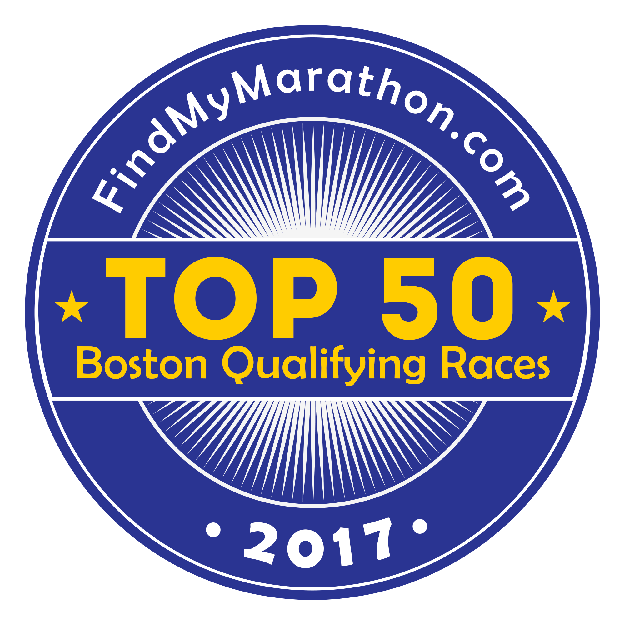 Top 50 Boston Qualifying Races for 2017